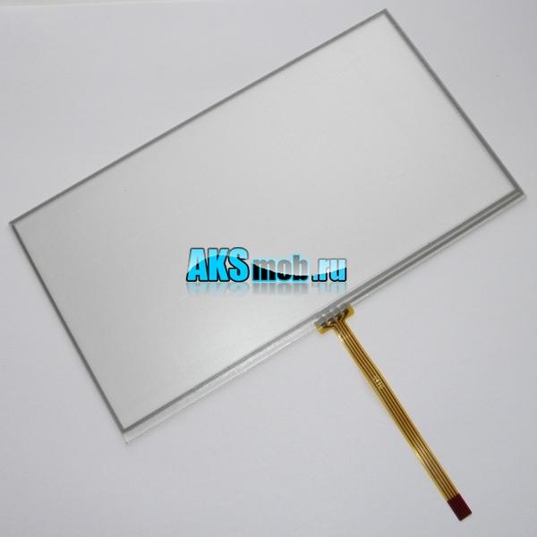 Тачскрин 166мм на 92мм для автомагнитолы - сенсорное стекло 7 дюймов тип 47