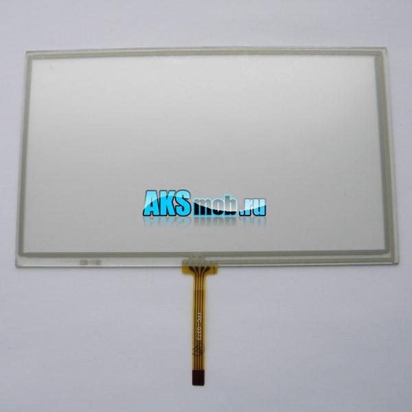 Сенсорное стекло (Тачскрин, тоучскрин, touch screen) для автомагнитолы 7 дюймов (99мм*165мм, диагональ 192мм)