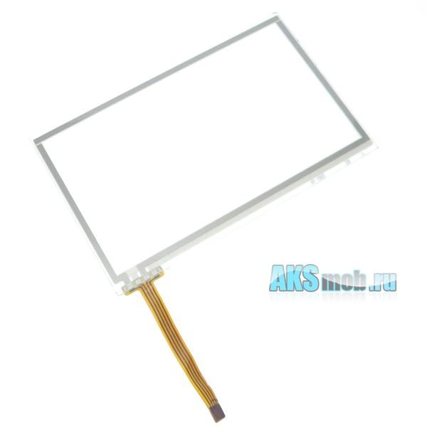 Тачскрин (Сенсорное стекло) для GPS навигатора 4,3 дюйма Тип21 (65мм*102мм, диагональ 122мм, AF-1302)