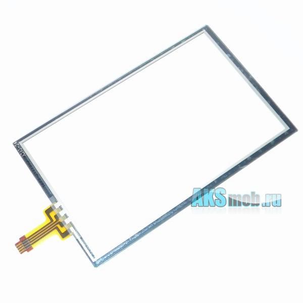 Тачскрин (Сенсорное стекло) для GPS навигатора 4,3 дюйма Тип22 (65мм*105мм, диагональ 123мм, A349-24)