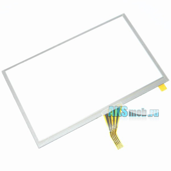 Тачскрин (Сенсорное стекло) для GPS навигатора 4,3 дюйма Тип23 (65мм*105мм, диагональ 123мм)