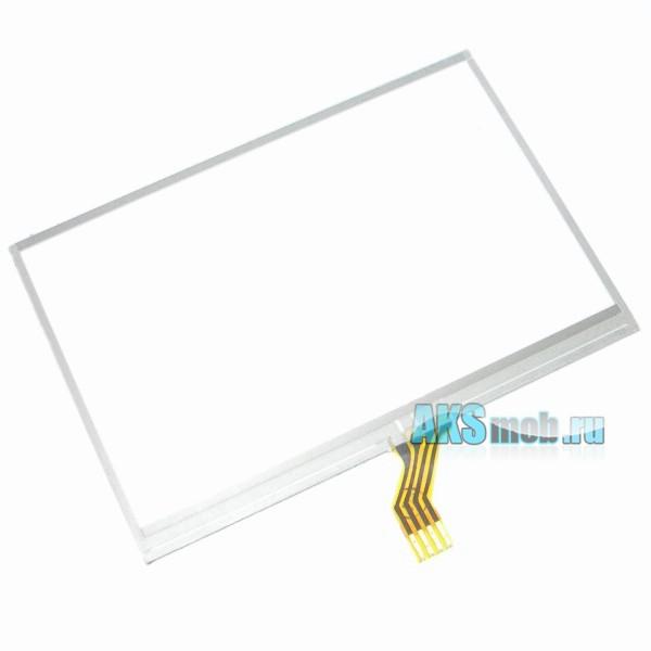 Тачскрин (Сенсорное стекло) для GPS навигатора 4,3 дюйма Тип25 (68мм*100мм, диагональ 120мм)