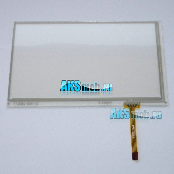 Тачскрин (Сенсорное стекло) для GPS навигатора 6 - 6,5 дюймов тип11 (87мм x 145мм, диагональ 170мм)