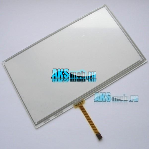 Тачскрин (Сенсорное стекло) для автомагнитолы 7 дюймов тип 13 (165мм x 100мм, диагональ 192мм) - touch screen