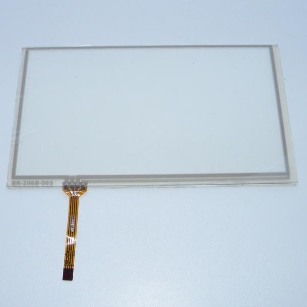 Тачскрин (Сенсорное стекло) для GPS навигатора 6 - 6,5 дюймов тип14 (155мм x 88мм, диагональ 178мм)