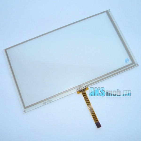 Тачскрин (Сенсорное стекло) для автомагнитолы 155мм x 88мм, диагональ 178мм - 6/6,1/6,2/6,3/6,4/6,5 дюймов - touch screen ZCR-1293 тип 4