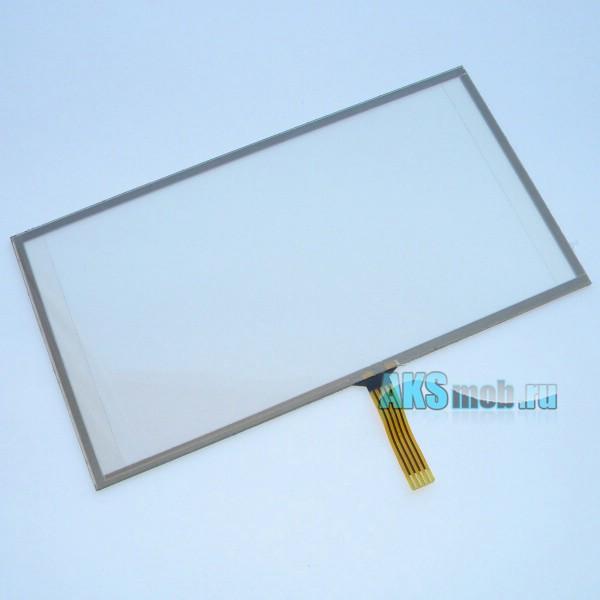 Тачскрин (Сенсорное стекло) 5-5,5 дюймов для GPS навигатора тип 11 (133*72мм диагональ 152мм)