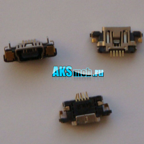 USB разъем для ремонта PSP 3000 Slim & Lite (PSP-3000) Оригинал